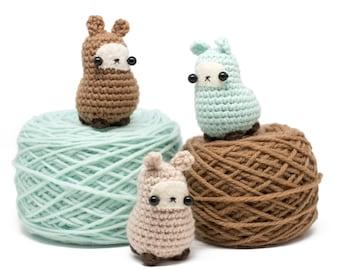 amigurumi llama pattern - easy crochet toy pattern