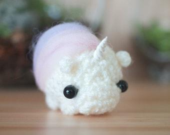 crochet unicorn amigurumi - unicorn stuffed toy