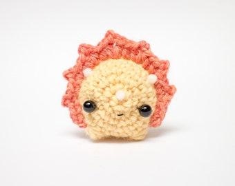 sunny crochet triceratops amigurumi - crochet dinosaur plush toy