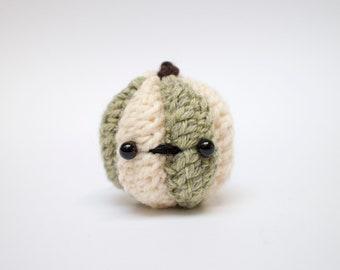 crochet pumpkin amigurumi - halloween pumpkin plush toy