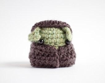 crochet goblin amigurumi - creepy cute plush toy doll