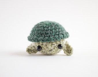 sea turtle plush - crochet turtle stuffed animal