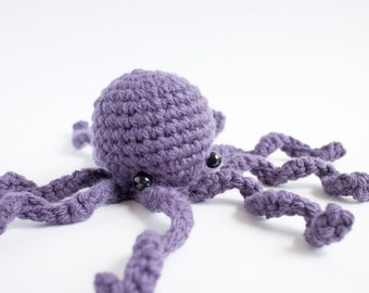 giant octopus plush - crochet amigurumi animal