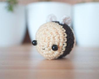 bumble bee plush - kawaii bee crochet stuffed animal