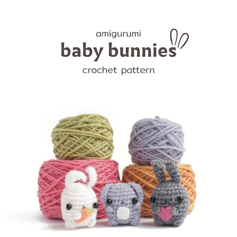 amigurumi bunny pattern  crochet animal pattern image 0