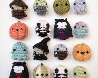 Halloween crochet patterns bundle - amigurumi Halloween pattern download