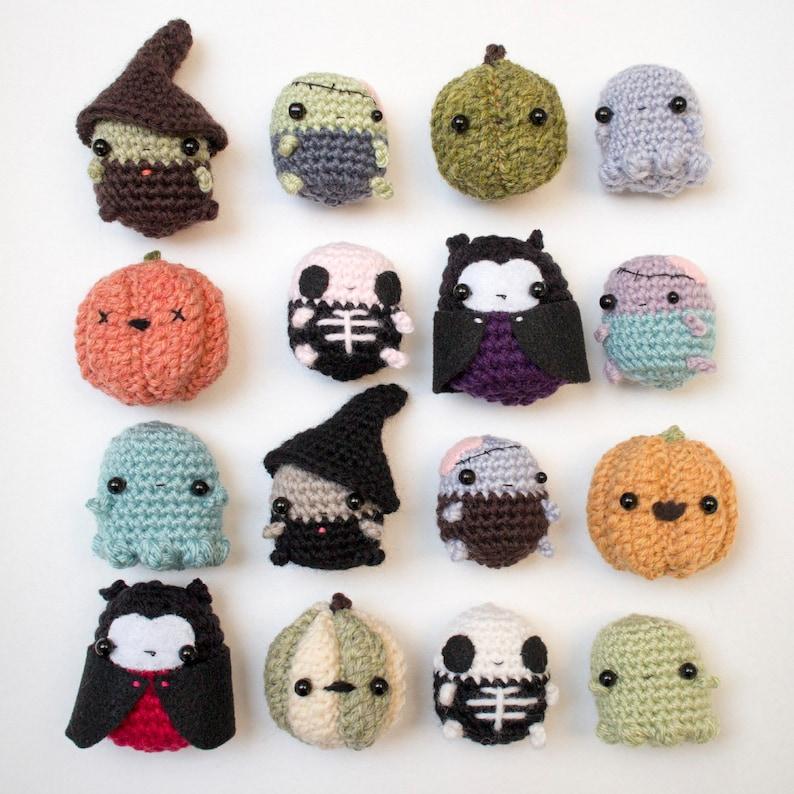 Halloween crochet patterns bundle  amigurumi Halloween image 1