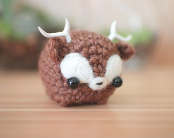 little deer plush - crochet amigurumi animal