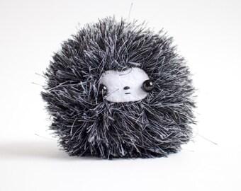 fluffy monster plush toy - handmade stuffed toy