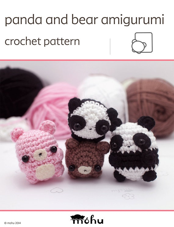Adorable Panda Bear Amigurumi Free Crochet Pattern - All Crochet ... | 745x570