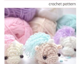 amigurumi unicorn pattern - cute crochet unicorn pattern