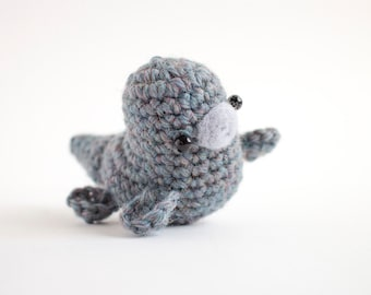 loch ness monster plush - crochet Nessie amigurumi