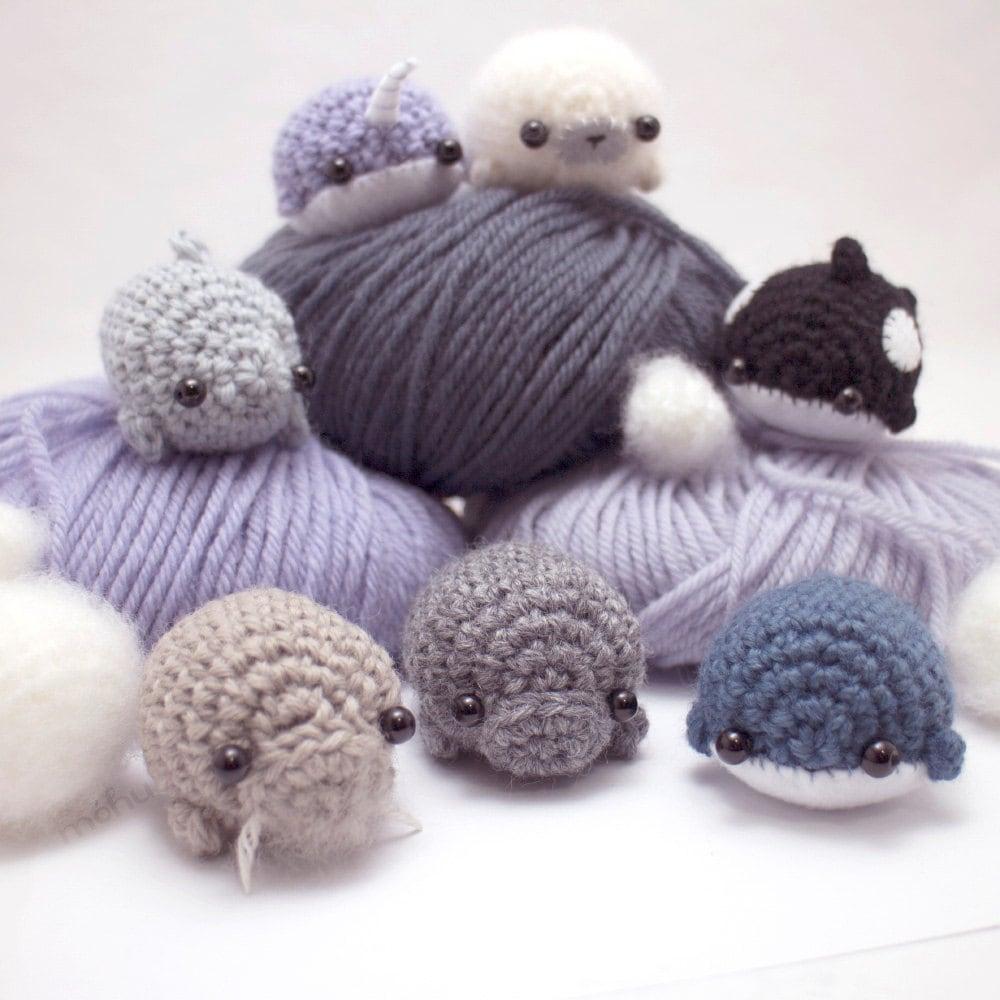 Dolphin - Realistic Amigurumi Animal - Crochet Pattern ... | 1000x1000