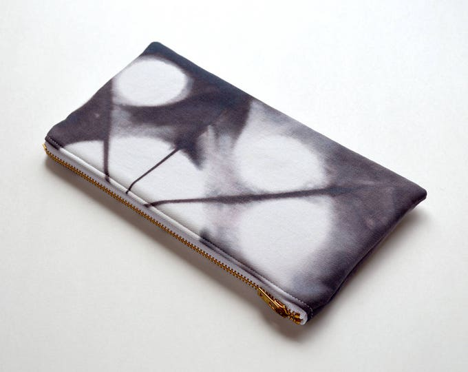 Tie-Dye Pouch - Dark Chocolate Brown