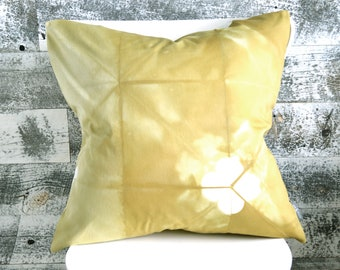 Tie Dye Flax Pillow Cover