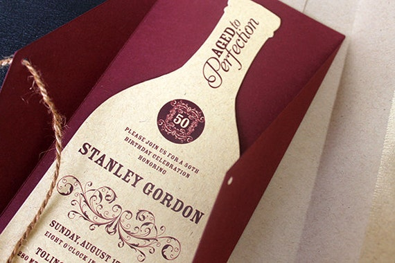 wine bottle invitation wine invitation wine themed invitation