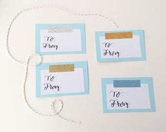 gift tag stickers etsy