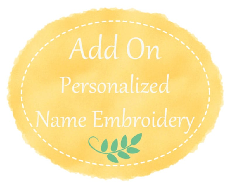 Personalized name / initial embroidery for your clutch image 0