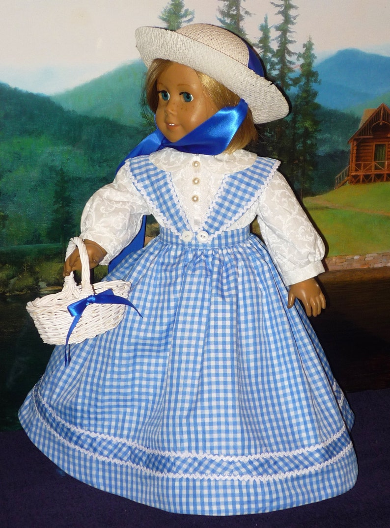 Antebellum Dress with Petticoat Bloomers fits American Girl image 0