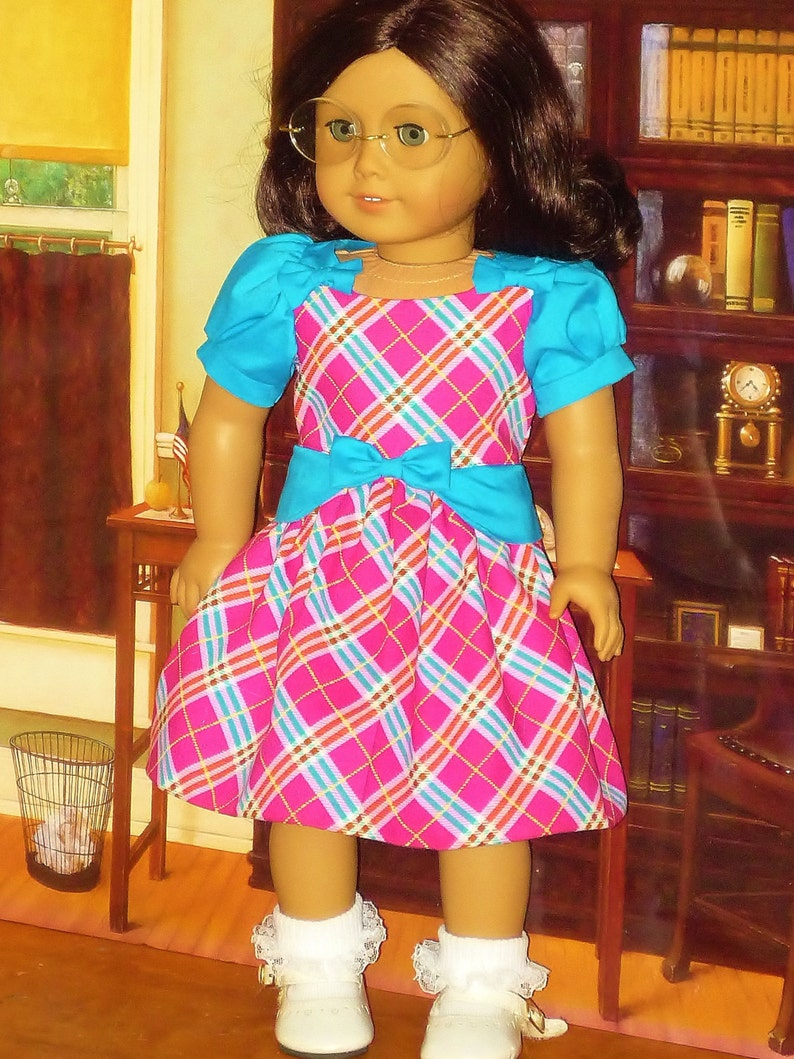 1940's Retro Style Dress fits American Girl Doll Molly image 0