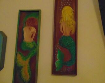 Mermaid Friends Plaques 2