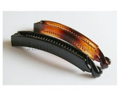 """5pcs of 100mm(about 4"""" X 15/32"""") Length Glossy Acrylic Hair Claw  in Black or Brown"""