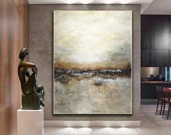 framed abstract art etsy