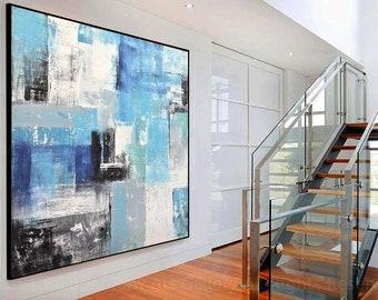 large framed art etsy