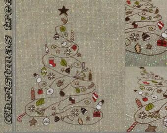 Modello albero di Natale