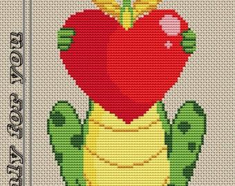 SOLO per voi cross stitch pattern