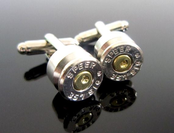 Bullet Cufflinks .45mm