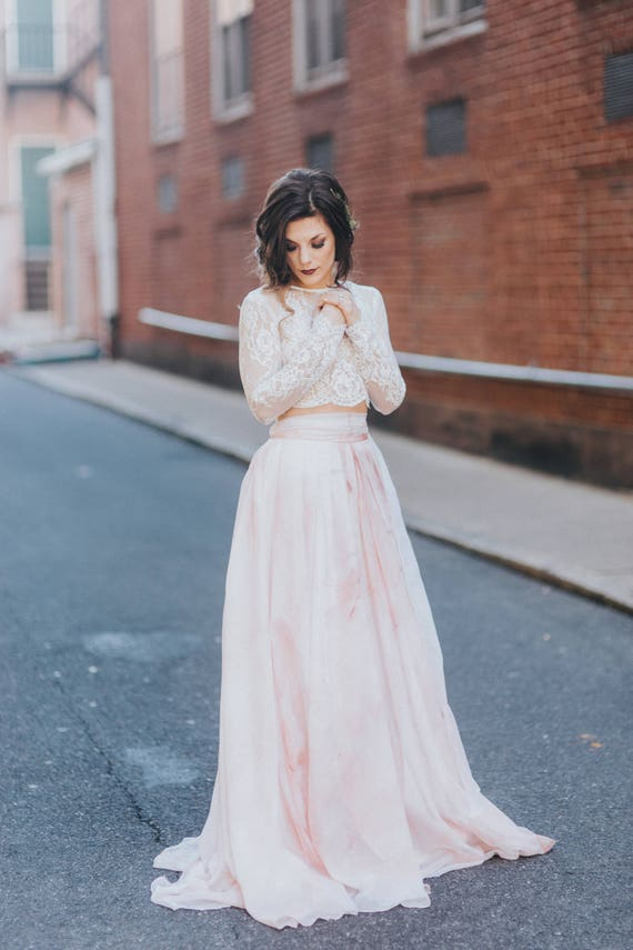 K'Mich Weddings - wedding planning - hand painted water color - tennyson skirt - rosewood - sweet caroline styles