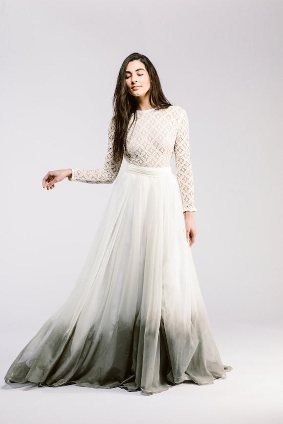 K'Mich Weddings - wedding planning - dipped dyed dress - sweet caroline styles