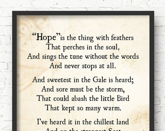 critical essay on hope is the thing with feathers Emily dickinson hope is the thing with feathers essay help  utilitarianism euthanasia essay support help with writing a critical essay on everyday use,.
