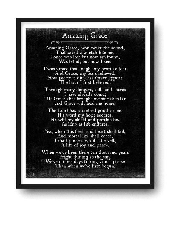 Hymn: Amazing Grace - hymnal.net: Christian Hymns ...