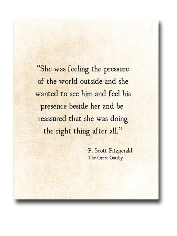 F Scott Fitzgerald Quote Love Romantic Quote Golden Quote Etsy