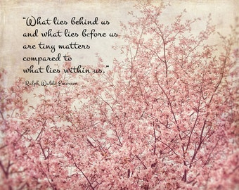 Ralph Waldo Emerson Quote Print My Wish For You Grad