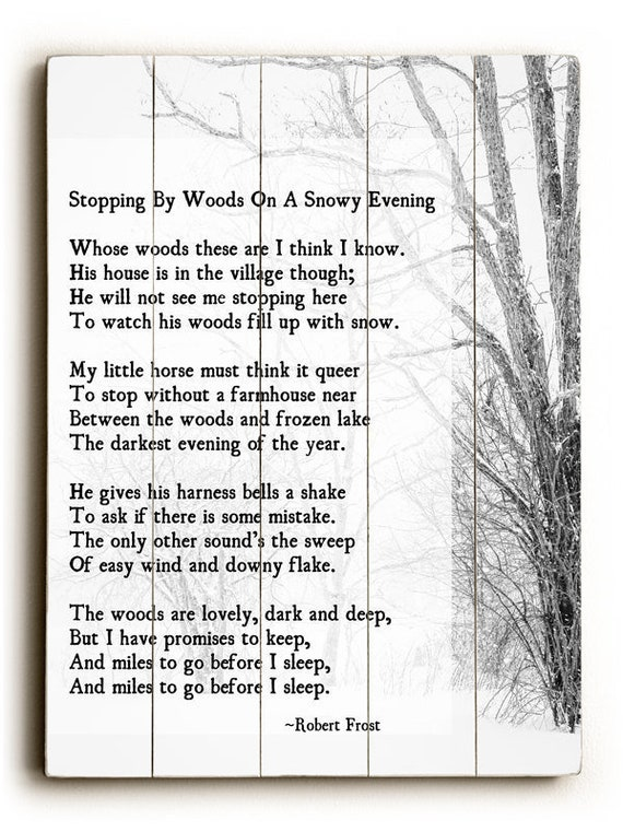 not to keep robert frost
