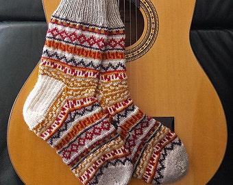 "Knitting pattern: Socks (""Balthazar's Jumper Socks""), adult sizes (PDF)"