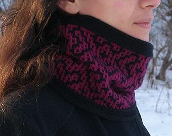 """Knitting pattern: Cowl (""""Bukhara"""") (PDF)"""