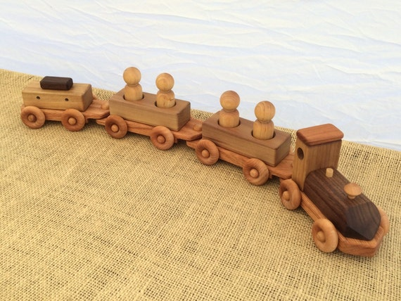 Wooden Peep Train