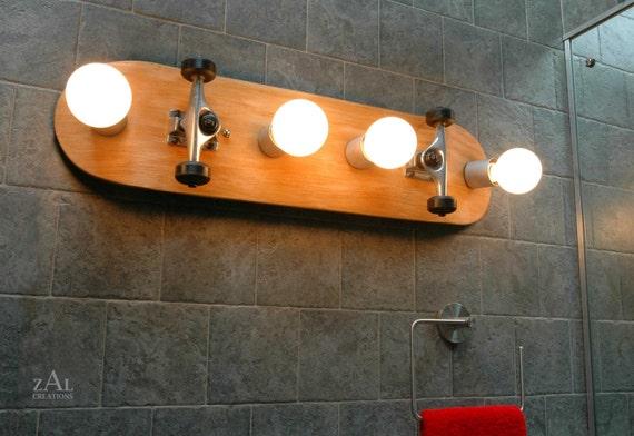 Vanity Light Skateboard Bathroom Light Fixture Wall Light