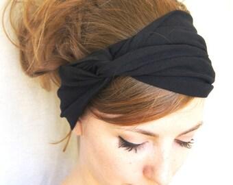 Black Turban Headband
