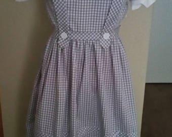 Dorothy Wizard of Oz Sepia Version Costume Women's Sizes 6-12