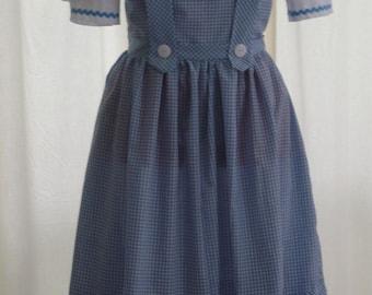 Dorothy Wizard of Oz Costume Women's Sizes 6-12
