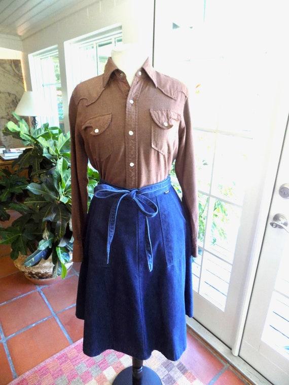 RESERVED Vintage Woman's Tem Tex western shirt 19… - image 3