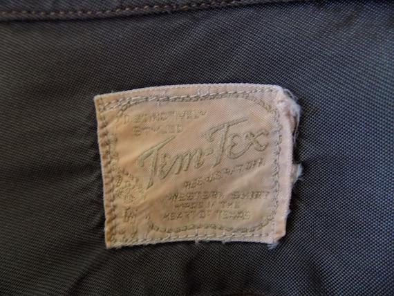 RESERVED Vintage Woman's Tem Tex western shirt 19… - image 6