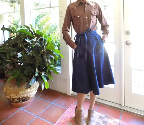 RESERVED Vintage Woman's Tem Tex western shirt 19… - image 1