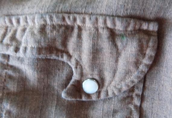 RESERVED Vintage Woman's Tem Tex western shirt 19… - image 10