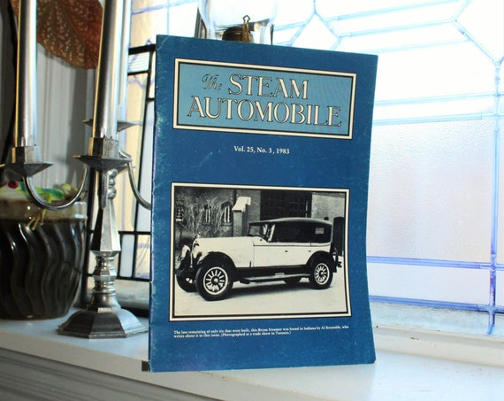 The Steam Automobile Magazine Vintage 1983